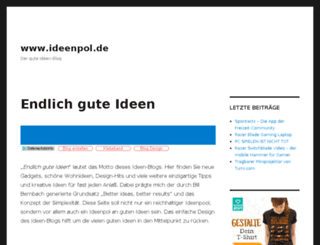 ideenpol.de screenshot