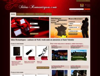 idees-romantiques.com screenshot