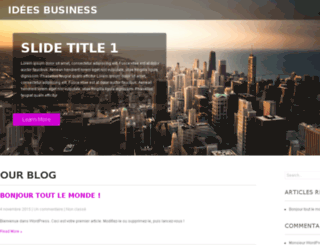 ideesbusiness.net screenshot
