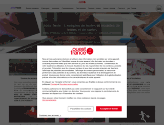 ideetexte.fr screenshot