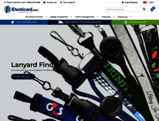 identicard.com screenshot