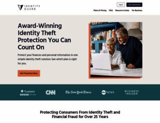 identityguard.com screenshot