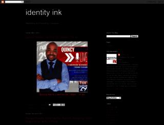 identityink.blogspot.com screenshot