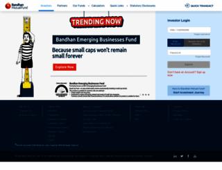 idfcmf.com screenshot