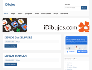 idibujos.com screenshot