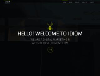 idiom.co screenshot