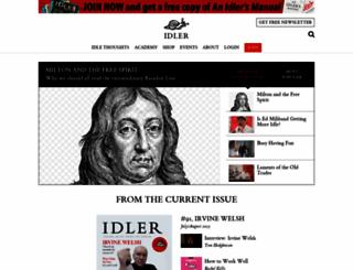 idler.co.uk screenshot
