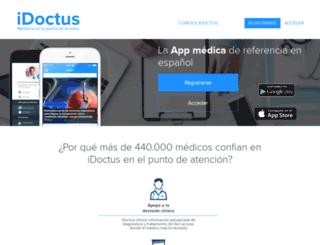 idoctus.com screenshot