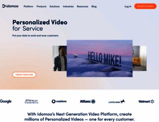 idomoo.com screenshot