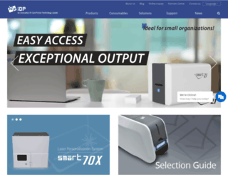 idp-corp.com screenshot
