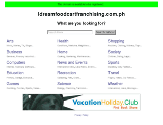 idreamfoodcartfranchising.com.ph screenshot