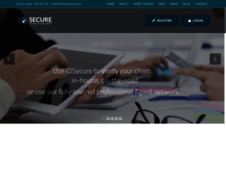 idsecure.com.au screenshot