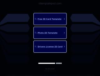 idtemplatepsd.com screenshot