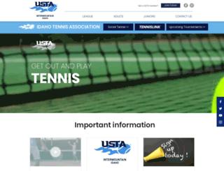 idtennis.com screenshot