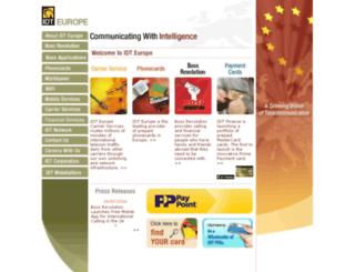 idteurope.com screenshot