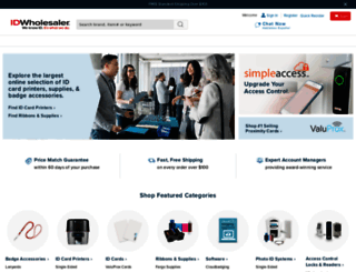 idwholesaler.com screenshot
