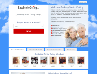 ie.easyseniordating.net screenshot