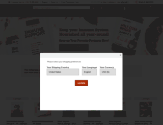 ie.evitamins.com screenshot