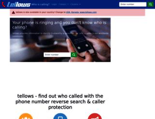 ie.tellows.net screenshot
