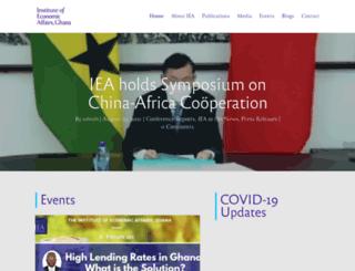 ieagh.org screenshot