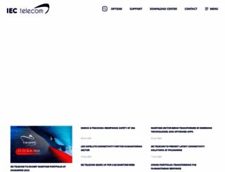 iec-telecom.com screenshot