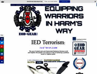 ied-terrorism.com screenshot