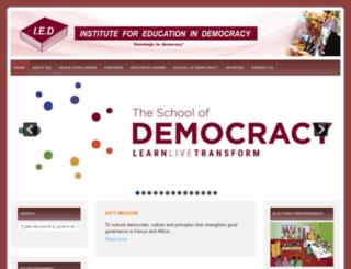 iedafrica.org screenshot
