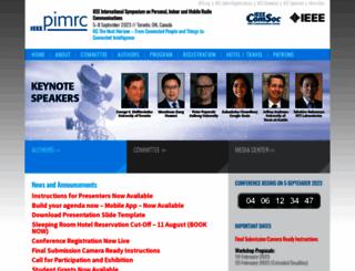 ieee-pimrc.org screenshot
