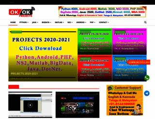 ieee-projects-chennai.com screenshot
