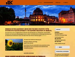 iek-berlin.de screenshot