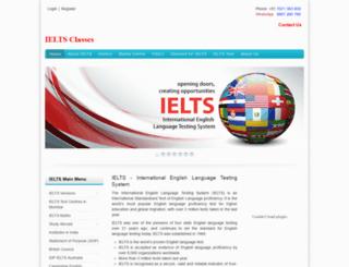 ieltsclasses.com screenshot