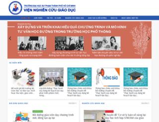 ier.edu.vn screenshot