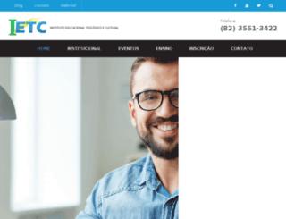 ietcbrasil.com.br screenshot