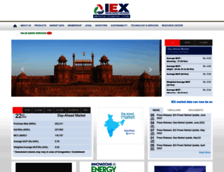 iexindia.com screenshot