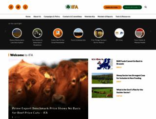 ifa.ie screenshot