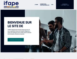 ifape.com screenshot