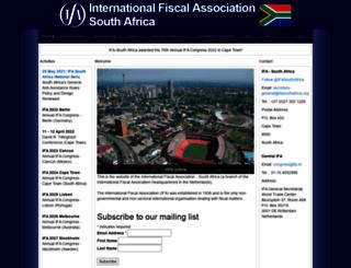 ifasouthafrica.org screenshot