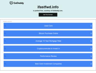 ifastfwd.info screenshot