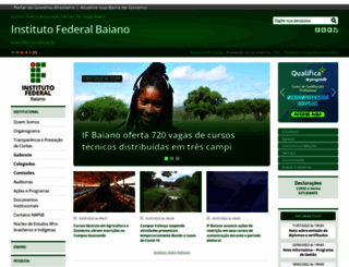 ifbaiano.edu.br screenshot