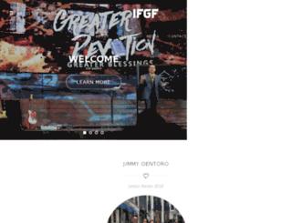 ifgf-jakarta.org screenshot