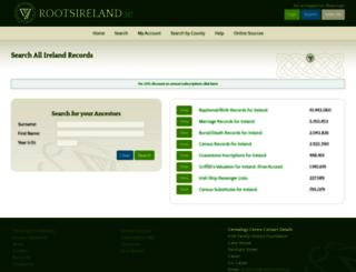 ifhf.rootsireland.ie screenshot
