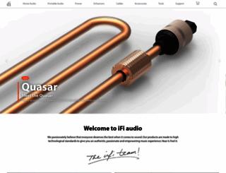 ifi-audio.com screenshot