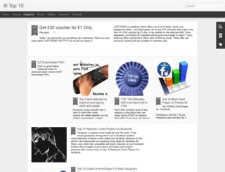 ifitop10.blogspot.com screenshot