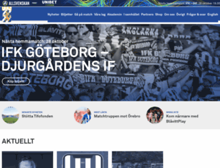 ifkgoteborg.se screenshot