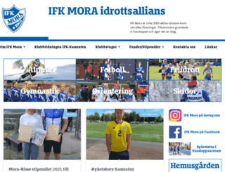 ifkmora.se screenshot