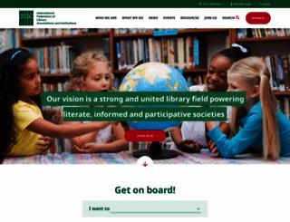 ifla.org screenshot