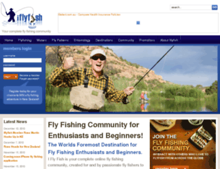 iflyfish.com.au screenshot