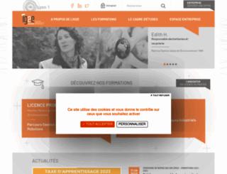ig2e.univ-lyon1.fr screenshot