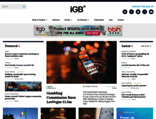 igamingbusiness.com screenshot
