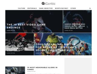 igcritic.com screenshot